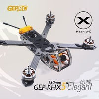 GEPRC GEP KHX4 GEP KHX5 GEP KHX6 GEP KHX7 Elegant Hybrid X Carbon fiber Frame kit for FPV DIY Quadcopter parts