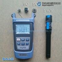 2 в 1 FTTH Волоконно-оптический набор инструментов волоконно-оптический измеритель мощности-70 + 10dBm и 5 км 1 мВт Визуальный дефектоскоп Волоконн...