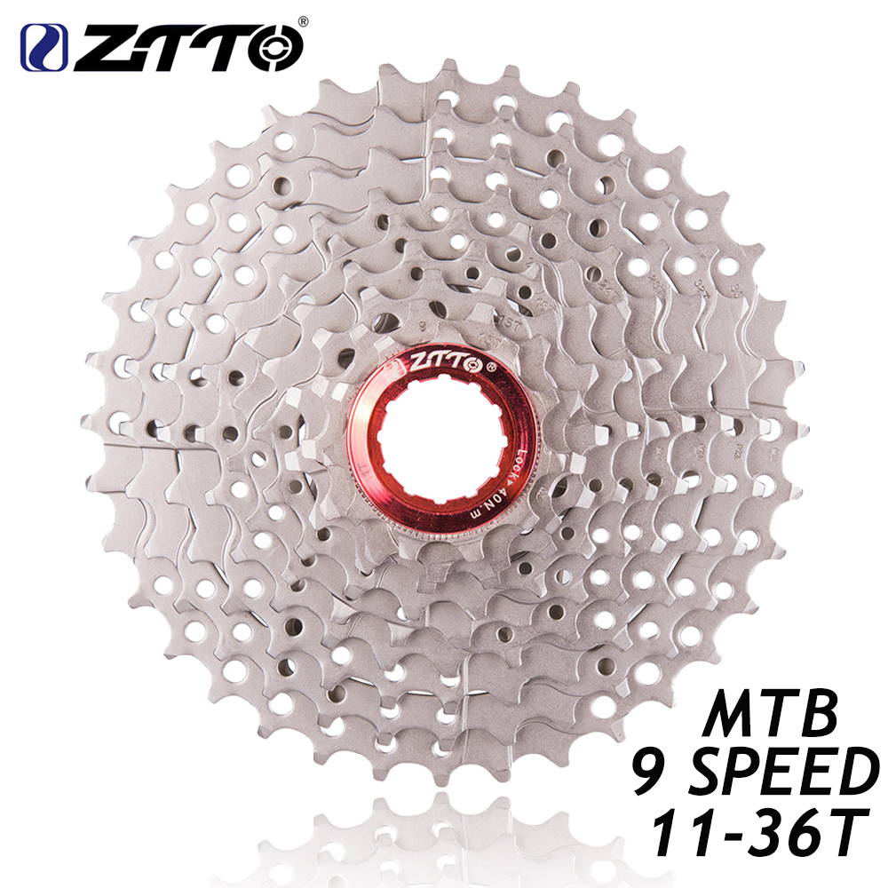 ZTTO MTB Mountain Bike Bicycle Parts 9 s 27 s Speed Freewheel Cassette 11-36T Compatible for Parts M370 M430 M4000 M590 M3000 цены онлайн