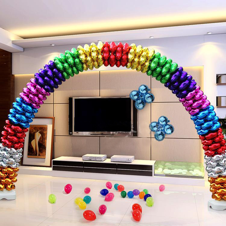 VIPOINT PARTY 18inch Clover Foil Balloons 10 Pieces Wedding Event Christmas Halloween Festival Birthday Party HY 35 in Ballons Accessories from Home Garden