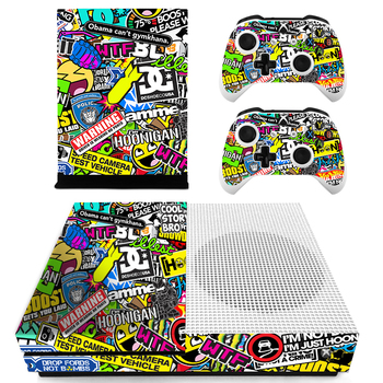 BOMB Vinyl Sticker Wood Style Skin Protective Sticker For Xbox One