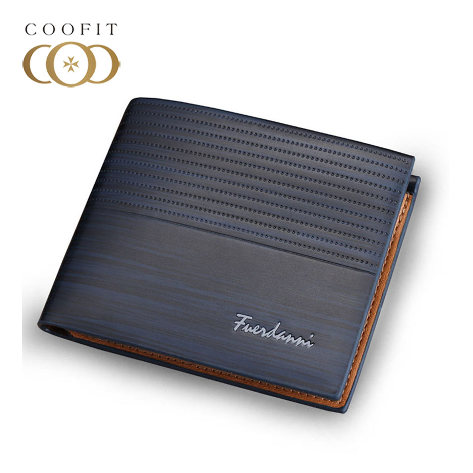 Coofit Wallet Multi-Cards-Holder RFID Blocking Protector Men for Boy Good-Quality Business