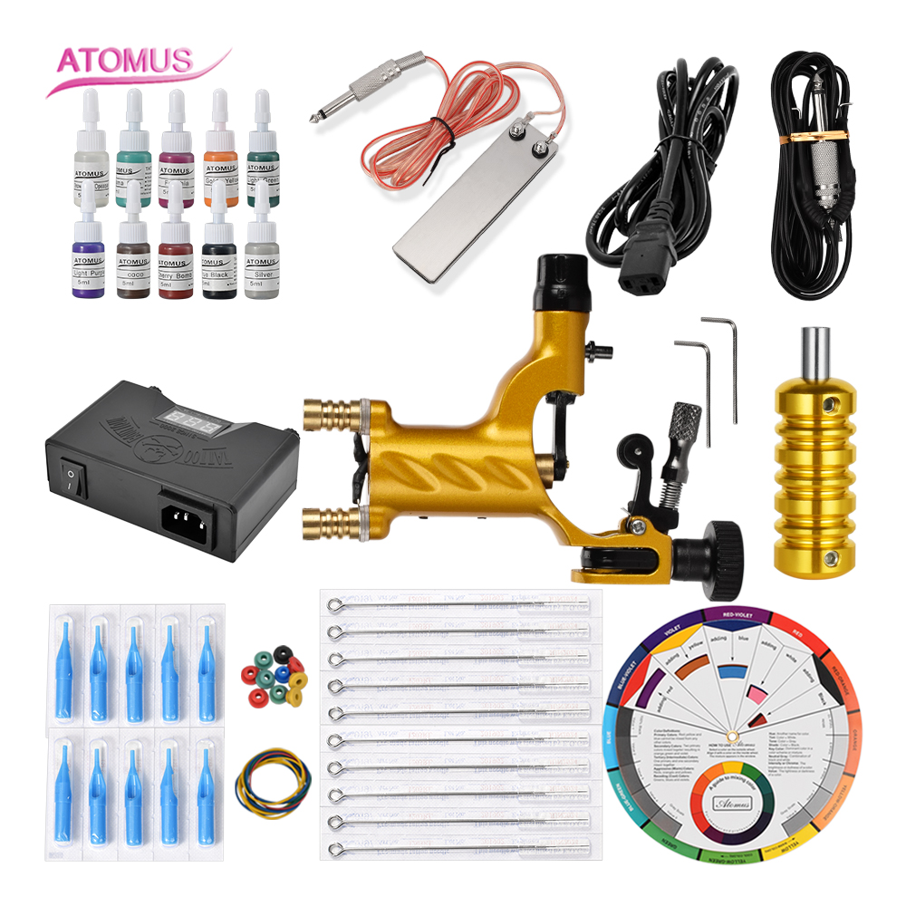 Tattoo Rotativa Professionnel Supply Kit Maquina Para Tatuar Rotativa Set Tatuajes Rotary Tattoo Machine Quit Support A TatouerTattoo Rotativa Professionnel Supply Kit Maquina Para Tatuar Rotativa Set Tatuajes Rotary Tattoo Machine Quit Support A Tatouer