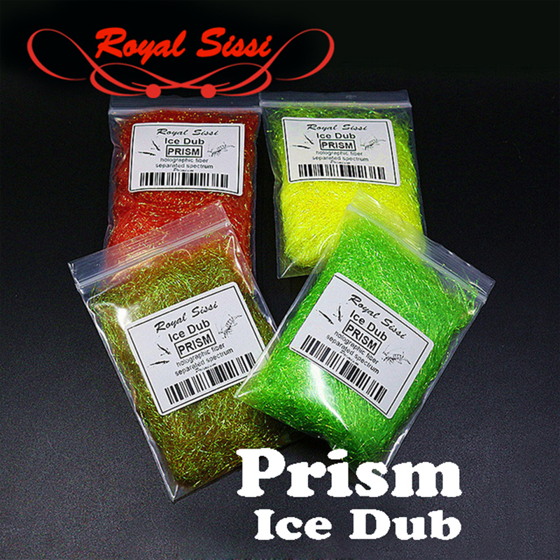 Hot 10Colors Fly Tying prism ICE DUB sparkle crystal Living Fibers/ UV Ice Wing Fly Tying Material for Nymph both dry &wet flies bimoo 6 bags ultra fine ice dub for fly tying synthetic sparkle dubbing fiber for nymph scud streamers fly tying material