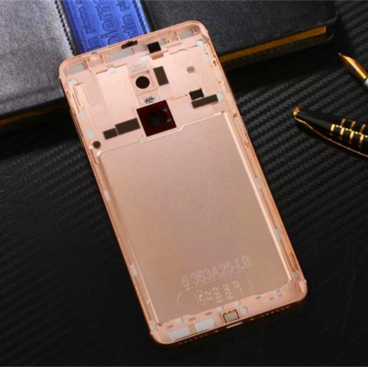sale retailer ccb65 0f0dd US $18.72 |Redmi Note4 Official Original Metal Cover Case for Xiaomi Redmi  Note 4 Back Battery Cover Housing Replacement Parts-in Fitted Cases from ...