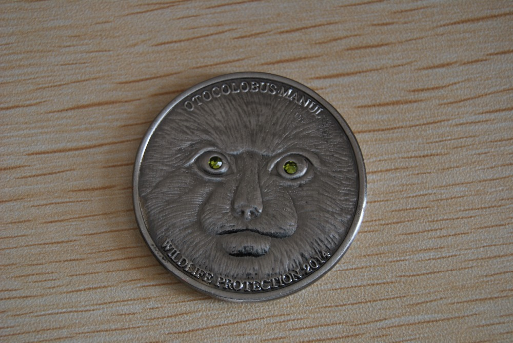 Mongolia 2014 500 Togrog Wildlife Protection MANUL 1 Oz Silver Coin  Swarovski 5pcs lot free shipping-in Non-currency Coins from Home   Garden on  ... 33156a4baf2b