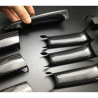 Car Accessories styling Sticker Carbon Fiber Auto Door Handle Knob Exterior Trim Covers for BMW E84 F25 F26 E70 E71 F80 F82 F83