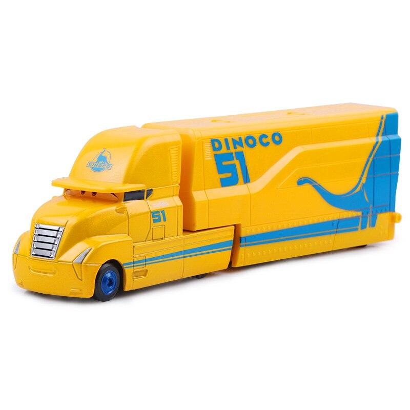 Дисней Pixar Тачки 2 3 игрушки Молния Маккуин Джексон шторм мак грузовик 1:55 литая модель автомобиля игрушка детский подарок на день рождения - Цвет: Ramirez Uncle 3.0