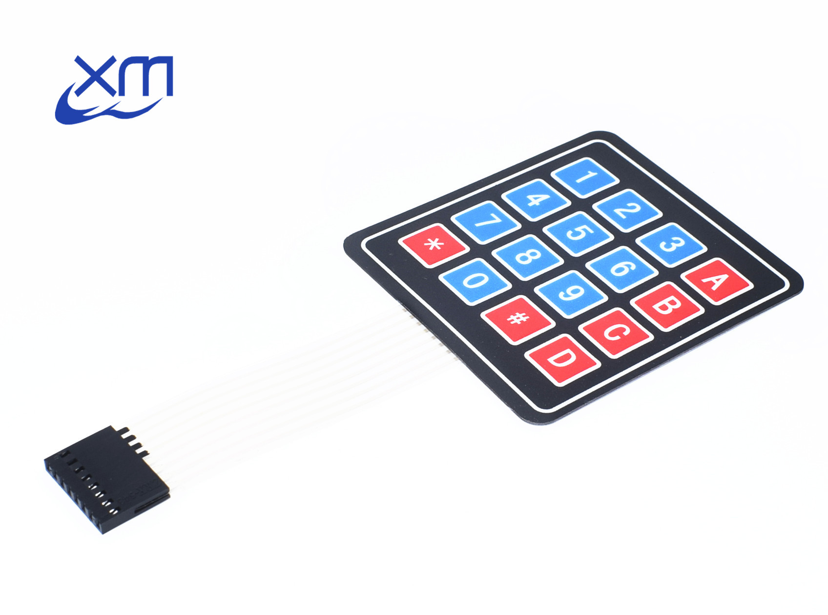 1PCS/LOT 4*4 Matrix Array/Matrix Keyboard 16 Key Membrane Switch Keypad 4X4 Matrix Keyboard H75 ...