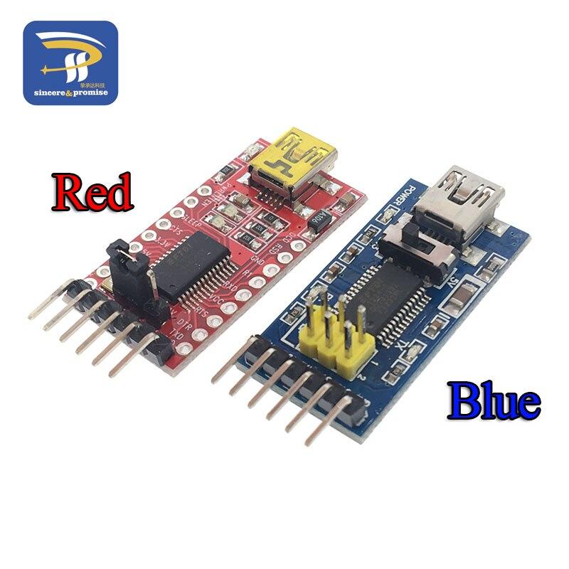 Ft232rl ft232 ftdi usb 3.3 v 5.5 v para ttl série adaptador módulo mini porto para arduino pro mini usb a 232 usb para ttl