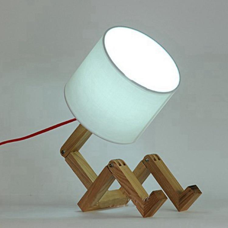 Modern ikea kids lampara para leer wood paletas table lamp for Ikea lamparas de pared