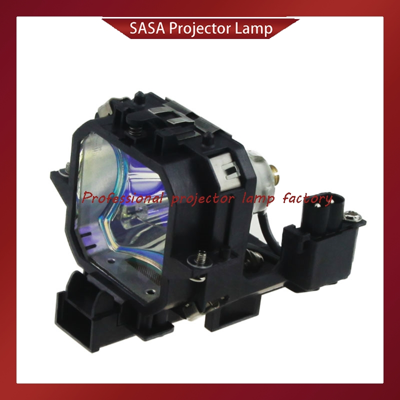 ELPLP21/V13H010L21 Replacement Projector Lamp with Housing for EPSON EMP-53 EMP-73 / PowerLite 53c PowerLite 73c Projectors replacement projector lamp with housing elplp23 v13h010l23 for epson emp 8300 emp 8300nl powerlite 8300i powerlite 8300nl