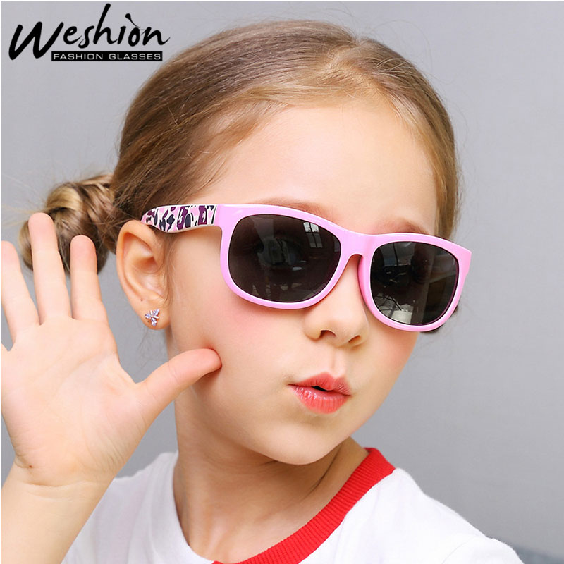 COASION Kids Polarized Sports Sunglasses Stylish Shades TR90 Unbreakable Frame for Boys Girls Baby and Children
