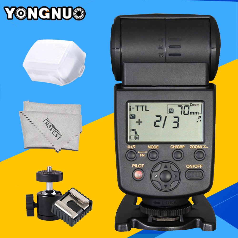 Yongnuo YN568EX TTL HSS High Speed Flash Speedlite YN-568EX for Nikon D750 D7000 D7100 D7200 D5200 D5300 DSLR Camera Speedlight 2017 triopo tr 586ex flash ttl speedlite wireless speedlight suit for nikon d750 d700 d7100 camera as yongnuo yn 568ex