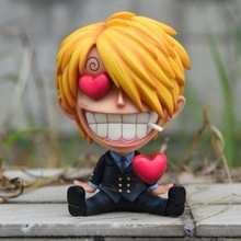 10cm One Piece Vinsmoke Sanji Action figure toys collection doll Christmas gift with box