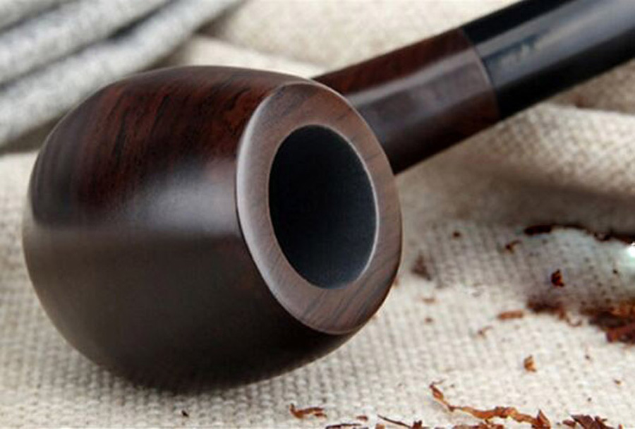 Image 5 - 16 Tools 9mm Filters Classic Handmade Natural Wood Smoking Pipe Set Smoke Tobacco Ebony Wooden Smoking Pipe F508y-in Tobacco Pipes & Accessories from Home & Garden