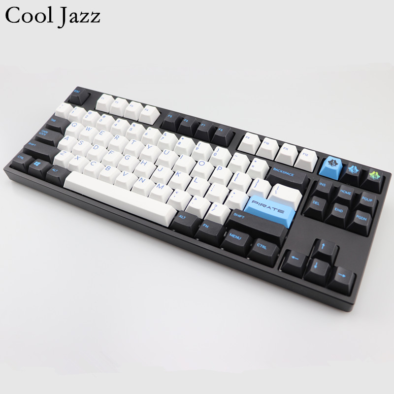 Cool Jazz new arrival Pirates of the Caribbean Mechanical keyboard PBT keycaps Cherry profile keycap kbdfans new arrival cherry profile pbt keycap for mechanical keyboard blank pbt keycap 104 keys