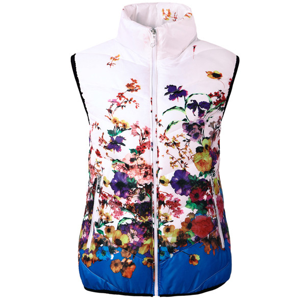 New-2016-Fashion-Winter-Vest-Women-Cotton-Down-O-Neck-Printed-Flowers-Women-Jacket-Vest-Coat (3)