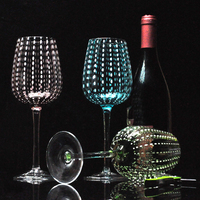 Fine crystal glass Wine Glass Creative personality party wine glasses nice goblet Christmas Blackjack