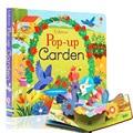 Детские книги для чтения с выдвижным садом, английские образовательные 3d-книжки с откидной крышкой, детские книги для чтения