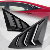 For 2016 2018 Honda Civic Sedan/4DR ABS Side Window Louvers Scoop Cover Vent