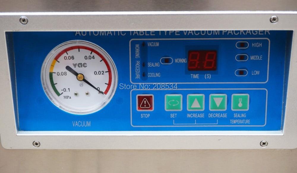 Low Price food vacuum sealer vacuum packing machine vacuum chamber aluminum bags food rice tea vacuum sealing machine in Power Tool Sets from Tools