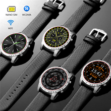 Sanvvi Smart Watch 3G Wifi Bluetooth Watch GPS Call Reminder Men Wristwatch  with Bluetooth Speaker for Android IOS Watch Phone