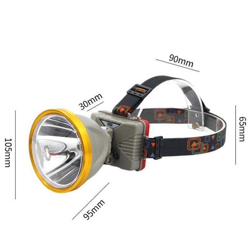 Высокая мощность большой размер USB налобный фонарь 3x18650 аккумулятор ночник Головной фонарь Передний фонарь фара освещение
