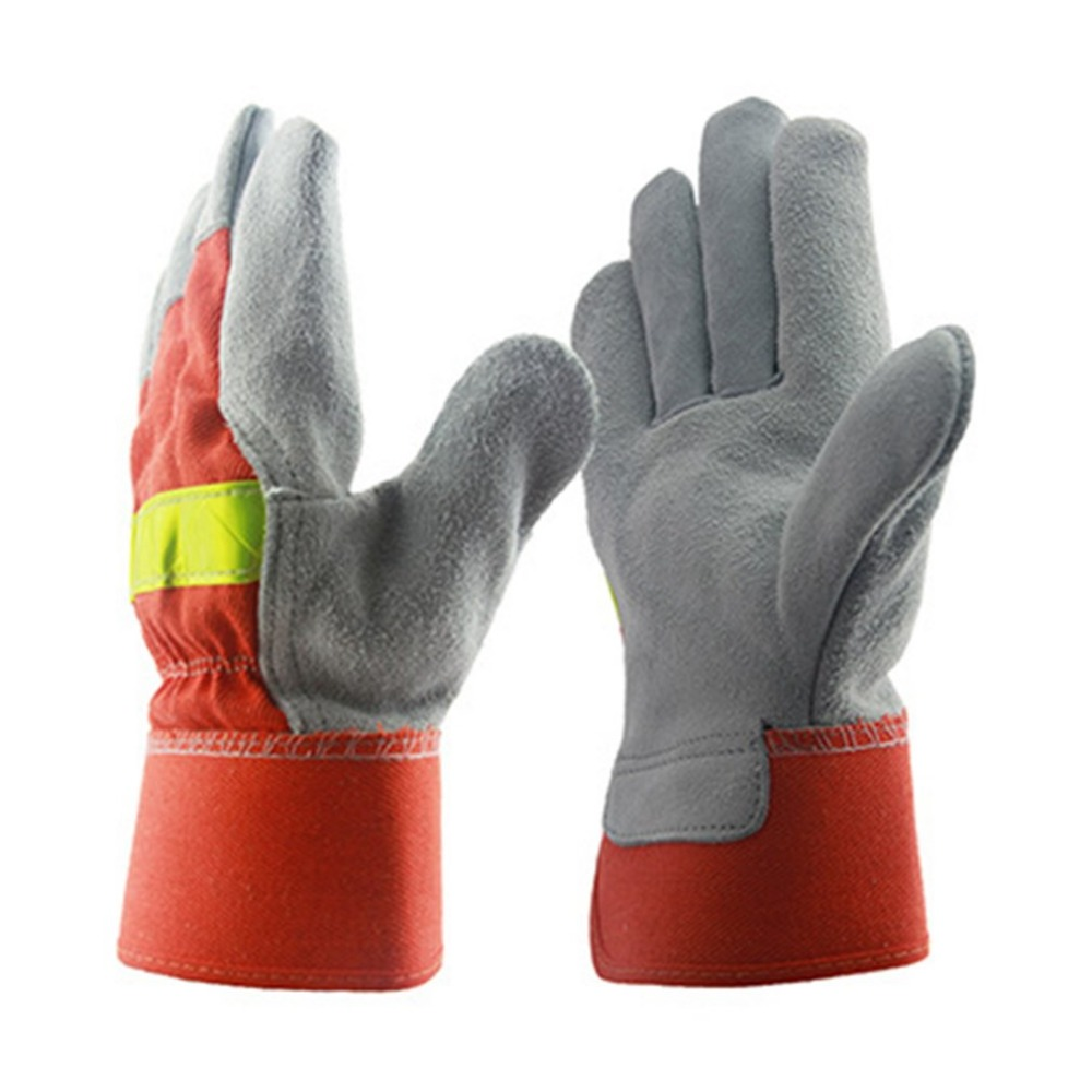 Leather Work Glove Fire Gloves Flame-retardant Wear-resistant safety Gloves Heat Resistant equipment with Reflective Strap indoor air quality monitor air quality detector tvoc&fomaldehyde detector