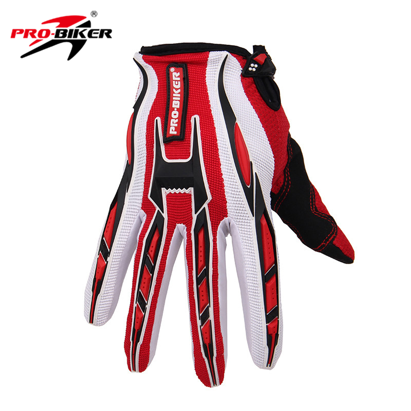 PRO-BIKER Motorcycle Gloves Motorbike Racing Cycling Full Finger Gloves Bicycle MTB Dirt Bike Motocross Off-Road Riding Gloves pro biker motorcycle riding gloves breathable motocross off road racing moto full finger gloves with stainlesssteel injection
