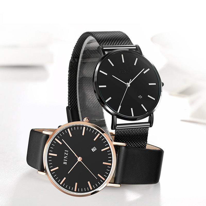 <font><b>Men</b></font> <font><b>Watches</b></font> <font><b>2019</b></font> Top Brand <font><b>Luxury</b></font> Wristwatch Male Clock <font><b>Ultra</b></font> <font><b>Thin</b></font> Minimalist Quartz <font><b>Watch</b></font> For <font><b>Mens</b></font> Waterproof Relogio Masculino image