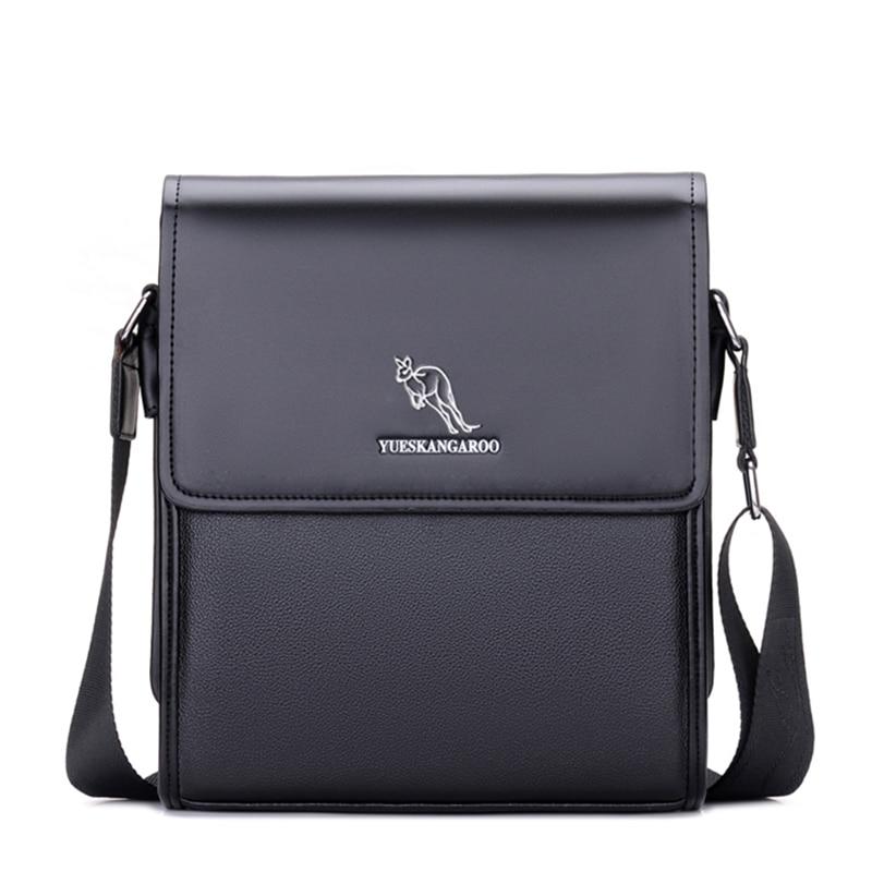 YUES KANGAROO kişi mesaj çantası kişi dəri çanta dizayneri - Çantalar - Fotoqrafiya 2