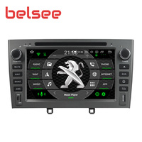 Belsee for Peugeot 408 308 308SW 2007 2010 Android 9.0 8 Core Car Radio 4GB 64GB Stereo Bluetooth Autoradio GPS Unit DVD Player
