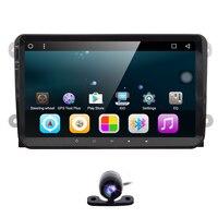 Hizpo 2 din android 6.0 car NOdvd for vw passat b6 golf 4 5 tiguan polo skoda octavia 2 with steering wheel controlcar radio gps