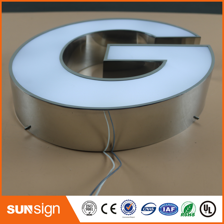 Custom Strip Led Letters Wholesale LED Acrylic Sign Letters