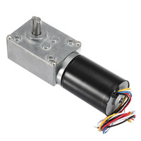 New DC 24V Rated Speed 30RPM Brushless Worm Micro Geared Reducer Motor
