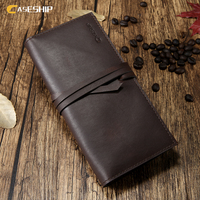 CASESHIP Genuine Leather Pouch For Samsung S8 S7 S6 Edge Case Wallet Case Bags For IPhone