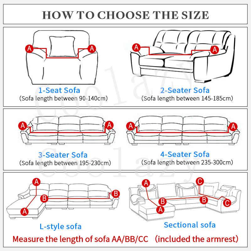 Эластичный чехол на диван Хлопок он требует заказа 2 шт. Чехлы для l-образный угловой секционный диван Чехол для гостиной сплошной цвет