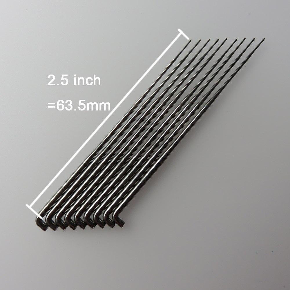 40G Fork reborn needles 500 pcs lot for mohair reborn forked needles