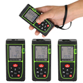 Новая лазерная рулетка 40 м-100 м  зеленый лазерный измеритель  портативный лазерный дальномер  электронная линейка для измерения дальности и ...