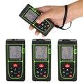Neue Sassy 40 M 100 M grün laser maßband tragbare laser abstand meter elektronische lineal für messen abstand bereich volumen etc-in Laser-Entfernungsmesser aus Werkzeug bei