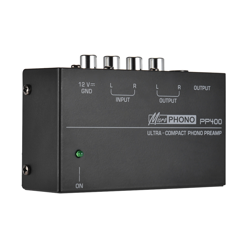 lowest price Ultra-Compact Phono Preamp Preamplifier With Rca 1 4Inch Trs Interfaces Preamplificador Phono Preamp Eu Plug