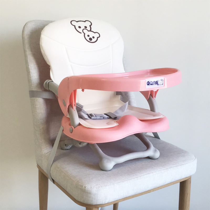 Portable Children's Dining Chair Baby Dining Chair Multifunctional Foldable Outgoing Baby Dining Table And Seat