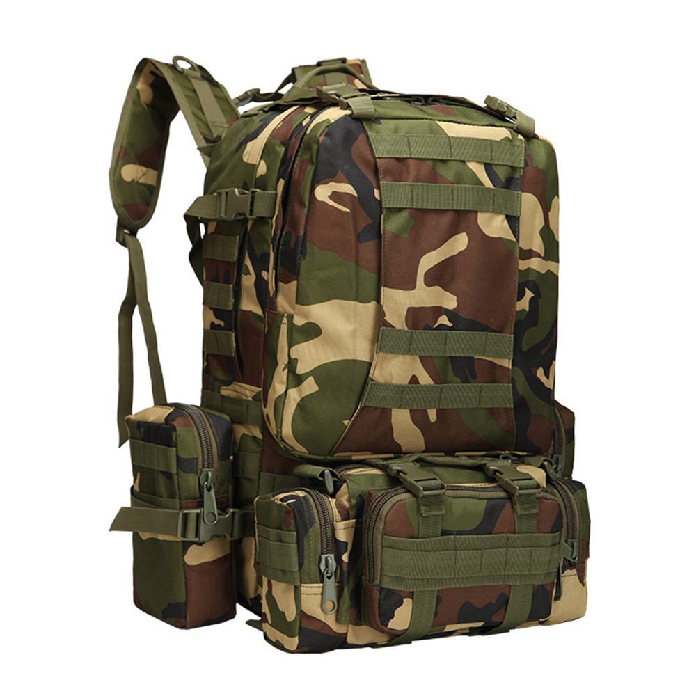 Upgraded version of the mountaineering package army fans outsourcing multi-functional hiking combination backpack large-capacity