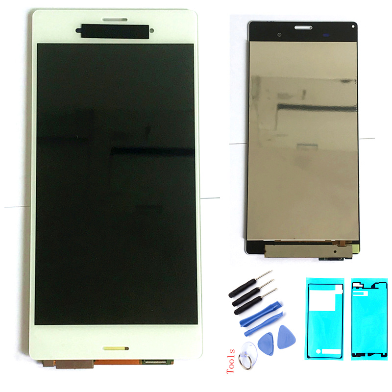 For SONY Xperia Z3 LCD Screen Original 1920*1080 5.2'' LCD For Sony Z3 Dual Display Touch Screen D6603 D6633 D6653 L55T Display