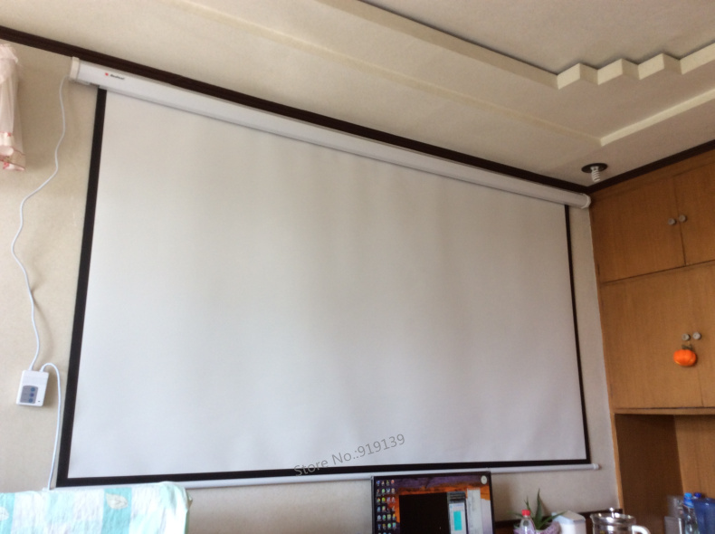 ... Electric Projection Screen Pic 8