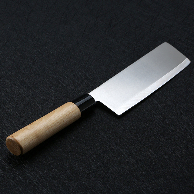 japanese kitchen knife microfiber towels 7inch cleaver stainless steel chef knives slicing vegetable cutting chopping meat butcher bone