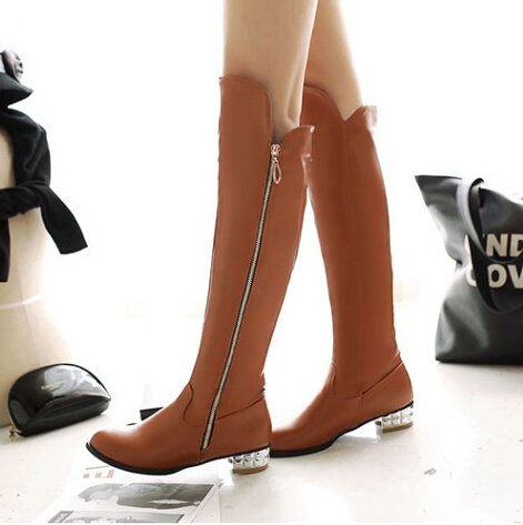 Aliexpress.com : Buy New Black Beige Brown Over The Knee High