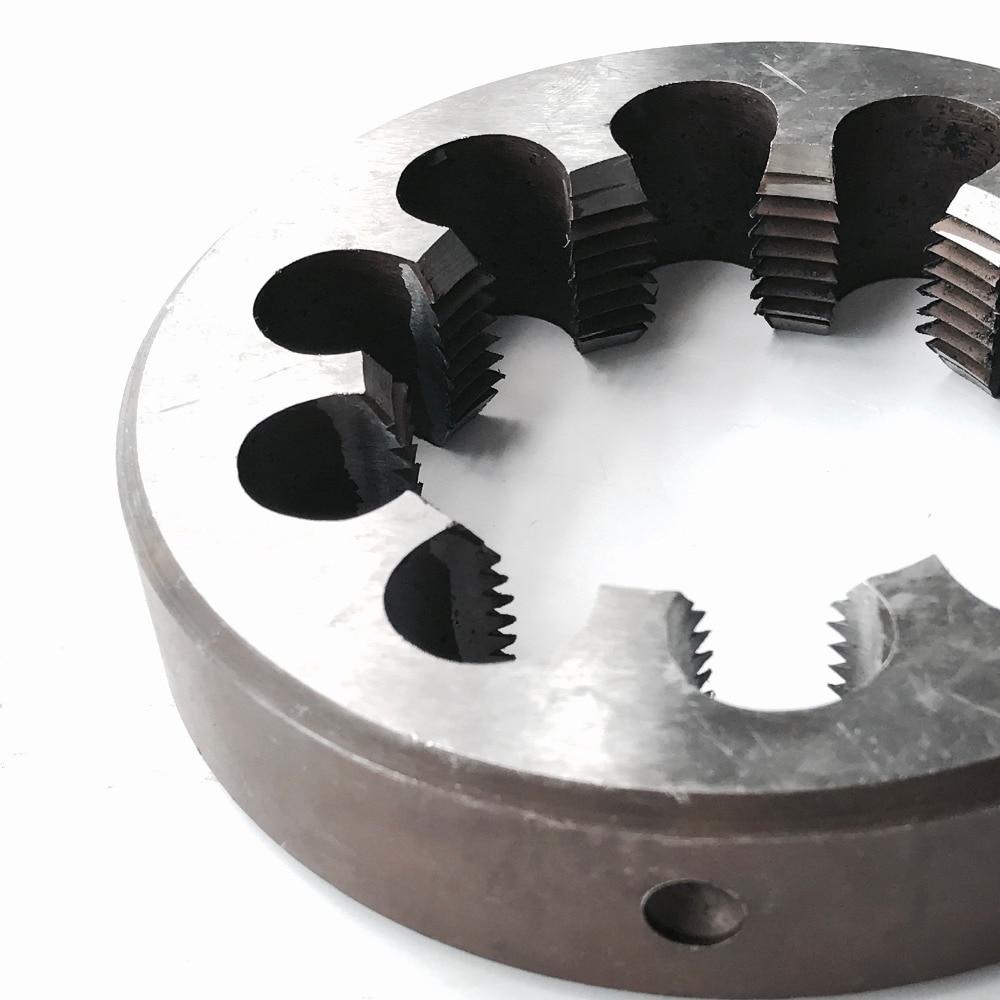 Бесплатная доставка 1 ПК метрическая руководство плашки М48*5.0 мм руководство умирает резьбы инструменты станок модели технических нить чайник