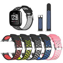Silicone Watch Band Wrist Strap Replacement for iWatch Series 1/2/3 38mm Seamless fit strap light breathable clamp accurately